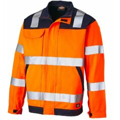 SA24/7JK ED Hi-Vis jacket Orange/Navy M