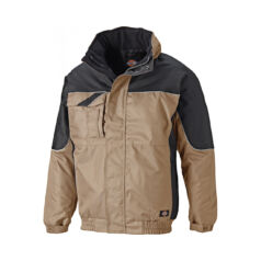 Munkaruha kabát IN30060-Khaki/Black-XXXL-Industry