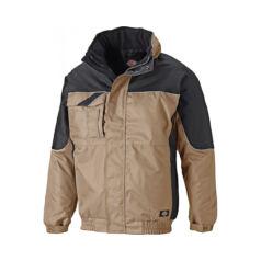 Munkaruha kabát IN30060-Khaki Black-XXXL-Industry 9d8d975085