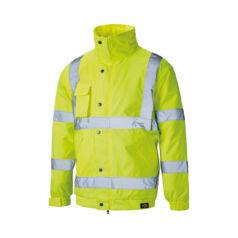 SA22050-L-Yellow-dzseki jól láthatósági