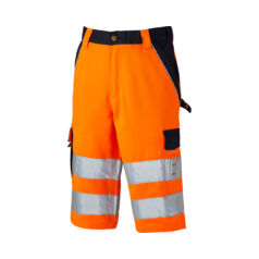 SA30065-Orange/Navy-Hi-Vis Industry rövidnadrág-38