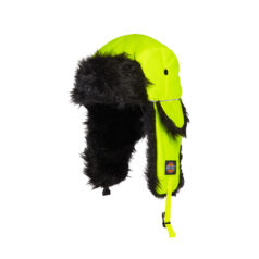 HA8017-Hi Vis-Yellow Trapper sapka
