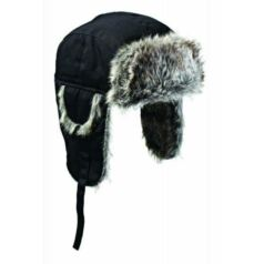 HA8001-Black Trapper sapka