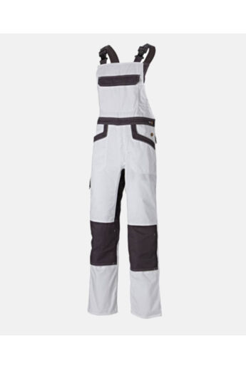 IND260 munkaruha mellesnadrág- white/gray