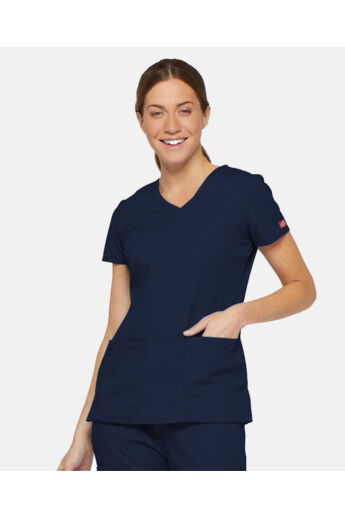 V-nyakú Női Egészségügyi Tunika  -Navy