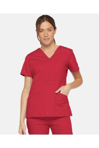 Női Egészségügyi Felső  - Piros