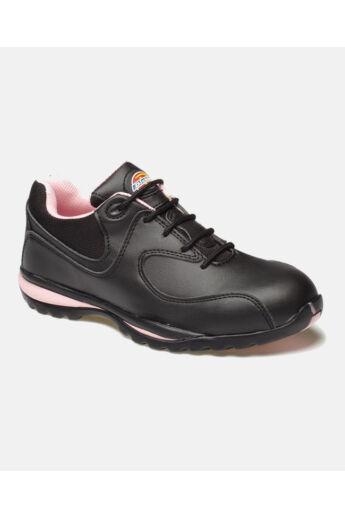 FD13905 Ohio női munkacipő Black/Pink