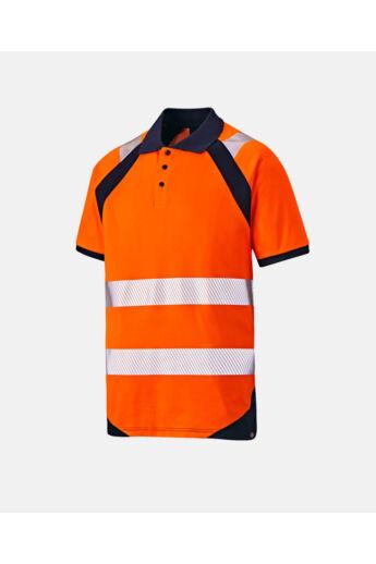 Temp-IQ galléros jól láthatósági póló Orange