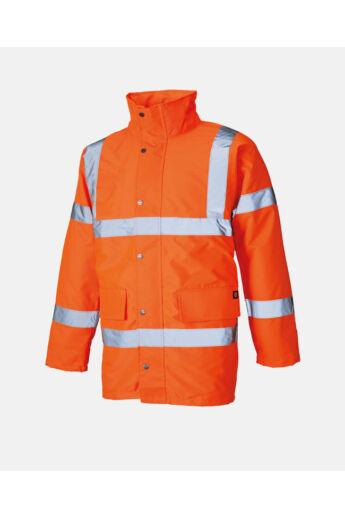 Jól láthatósági dzseki Narancs