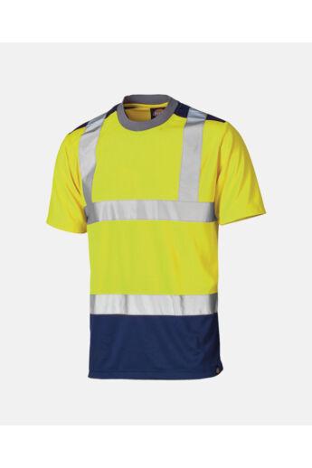 Jól láthatósági Two Tone póló Yellow