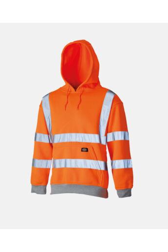 Jól láthatósági kapucnis pulóver Orange