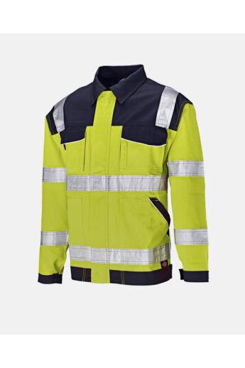 Industry jól láthatósági munkadzseki Yellow