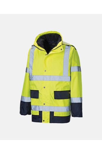 3 IN 1 jól láthatósági munka kabát