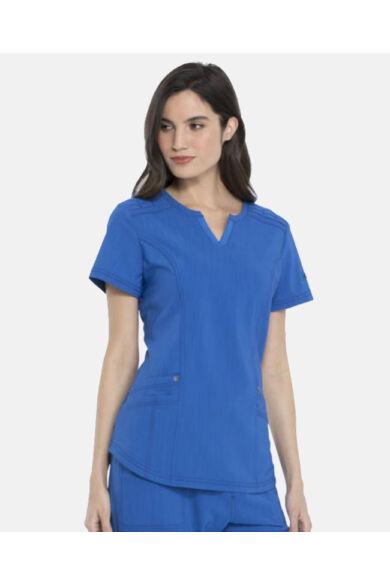 V-nyakú Női Egészségügyi Tunika  - royal