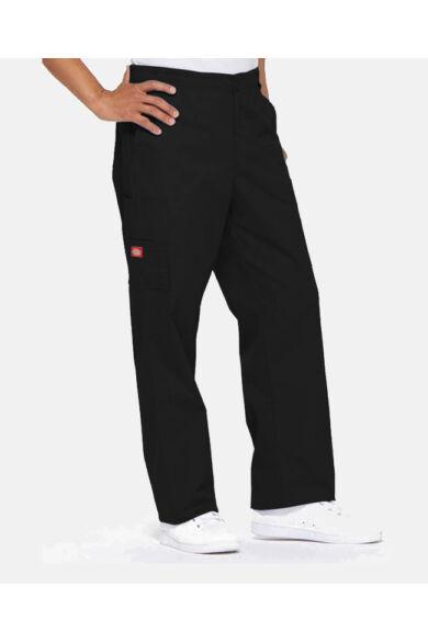 Férfi Egészségügyi nadrág gumis derekú - fekete