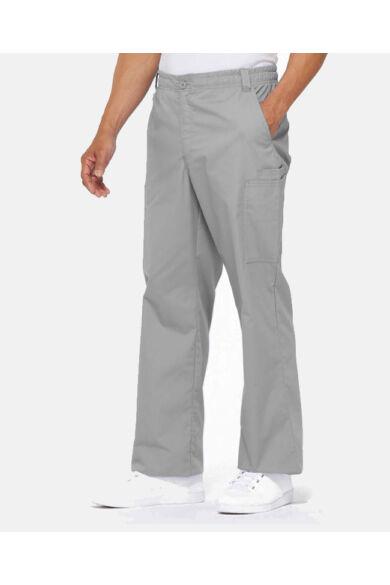 Férfi Egészségügyi nadrág gumis derekú - szürke