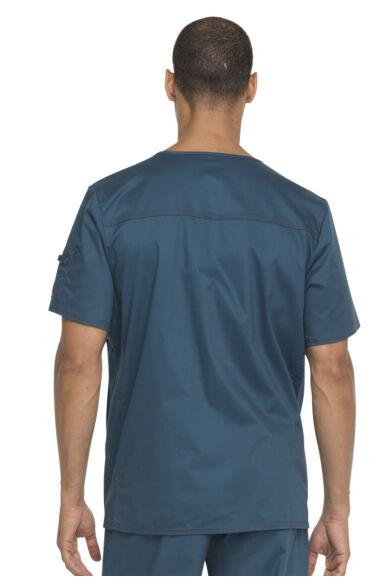 Férfi V-nyakú Egészségügyi Felső  - Caribbean blue
