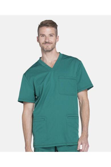 Férfi V-nyakú Kórházi Felső  - royal
