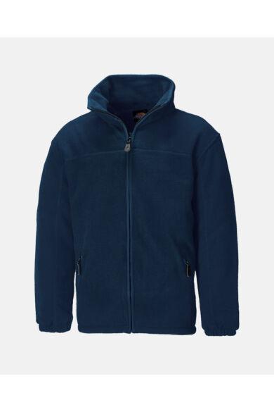 Bélelt fleece kabát Navy
