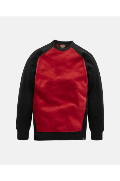 Two Tone munkaruha pulóver Fekete/Piros
