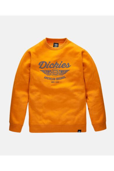 Everett pulóver Narancs/Navy