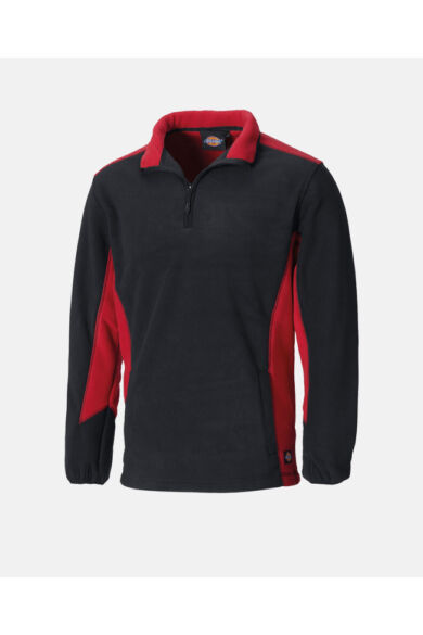 Two Tone softshell munkaruha pulóver Fekete/Piros