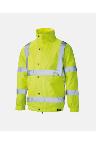 Jól láthatósági bomber dzseki Yellow