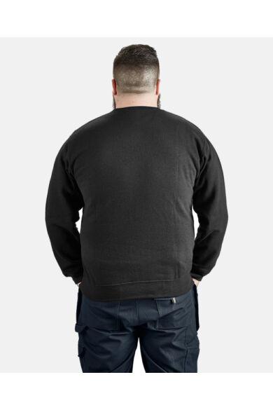 Crew Neck pulóver Fekete