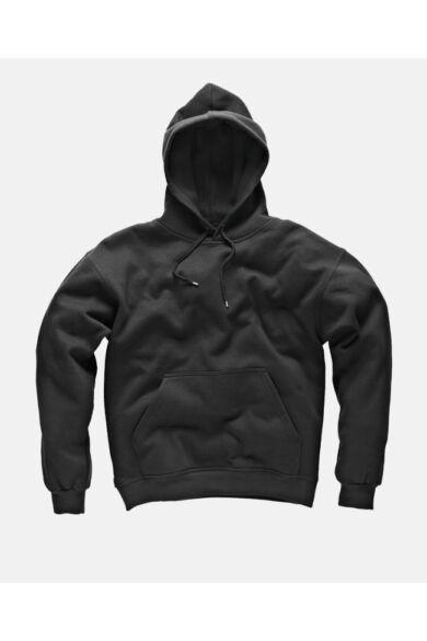 Kapucnis pulóver Fekete