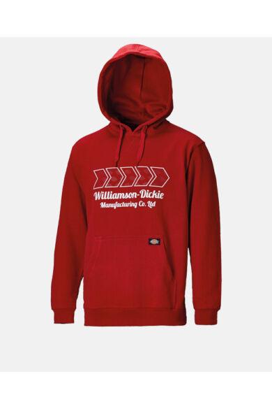 Arkley kapucnis pulóver Piros