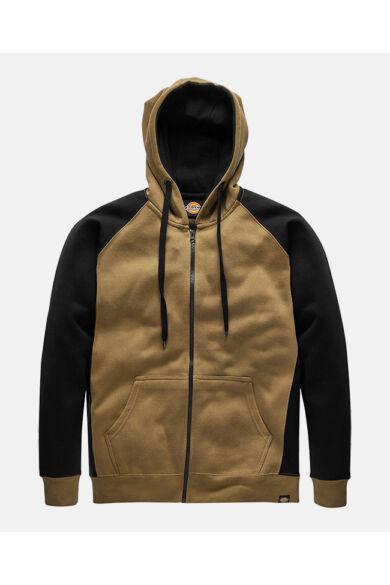 Two Tone munkás pulóver Khaki/Fekete