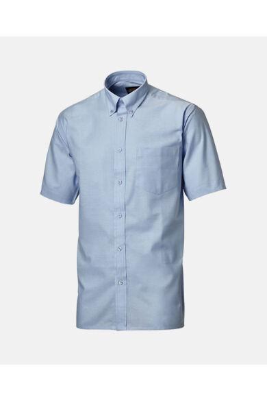 Oxford férfi rövid ujjú ing Kék