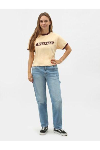Hellier női póló - Peach Brulee