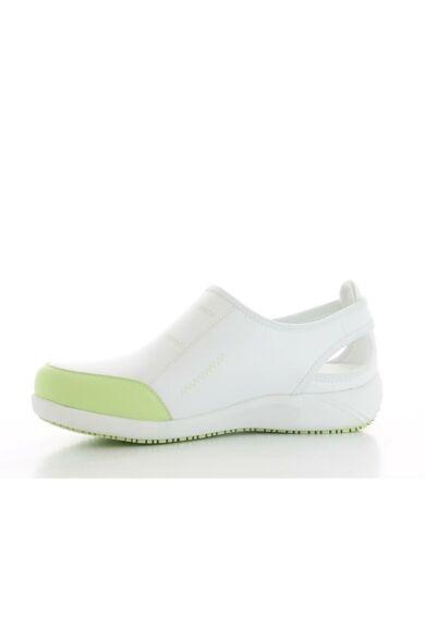 LILIA női bőrcipő- Világos zöld