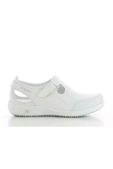 LILIA női bőrcipő- Fehér