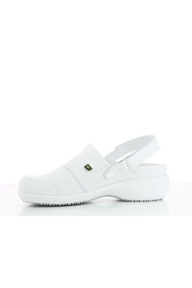 SANDY női bőrklumpa- Fehér