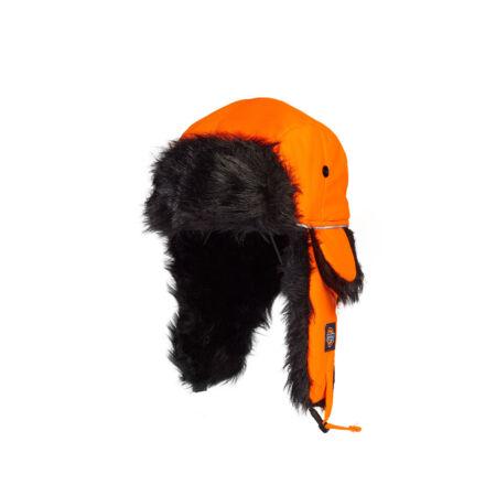 HA8017-Hi Vis-Orange Trapper sapka