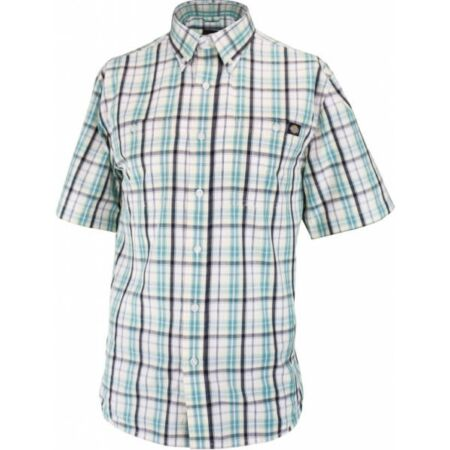 Munkaruha ing rövid ujjú AG7000-S-Blue-Bradbury férfi