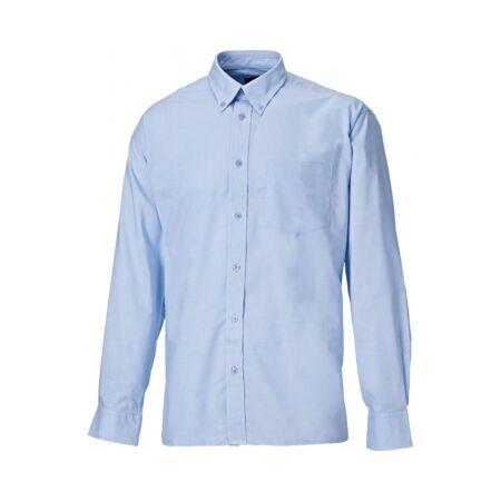 Munkaruha ing hosszú ujjú SH64200-18-Blue Oxford