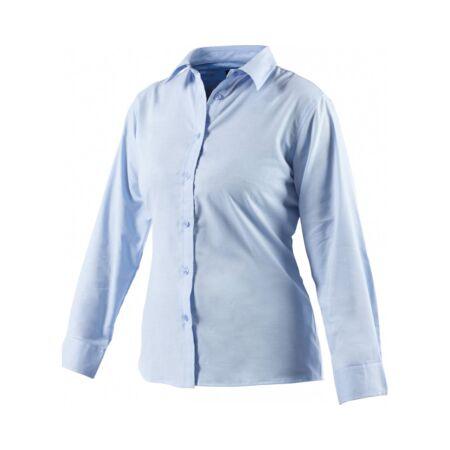 Munkaruha ing hosszú ujjú SH64300-20-Blue-Női Oxford