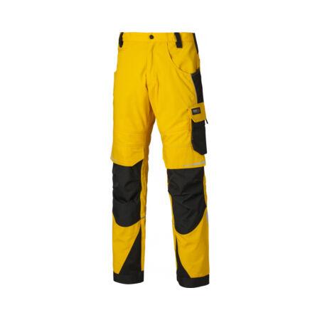 DP1000 - Dickies Pro Trouser - 40R - Yellow/Black