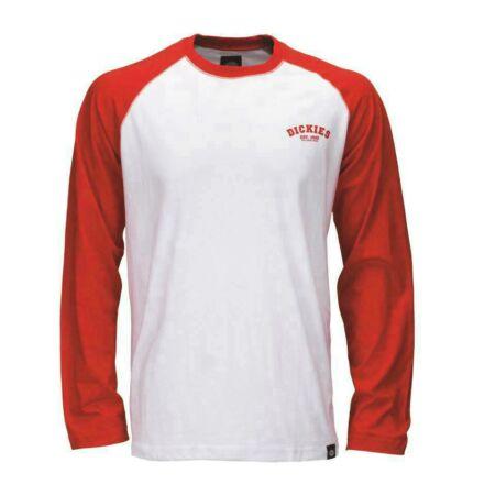 06 210275-XL-Red-Baseball h.ujjú póló