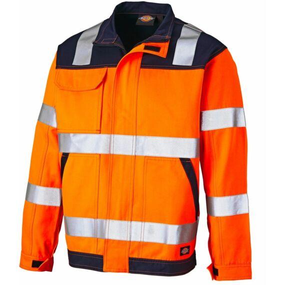 SA24/7JK ED Hi-Vis jacket Orange/Navy M