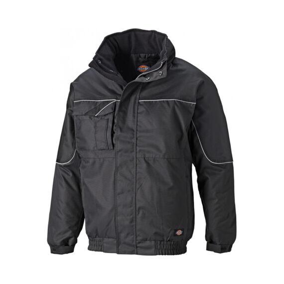 Munkaruha kabát IN30060-Black-L-Industry