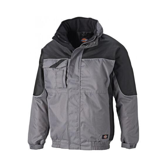 Munkaruha kabát IN30060-Grey/Black-L-Industry