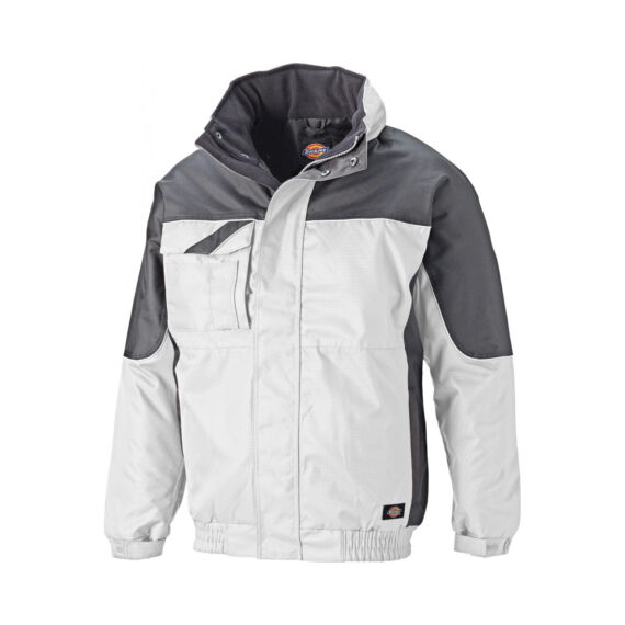 Munkaruha kabát IN30060-White/Grey-L-Industry