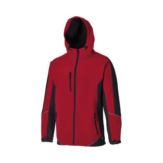 Munkaruha Softshell dzseki JW7010-TwoTone-Red/Black-L