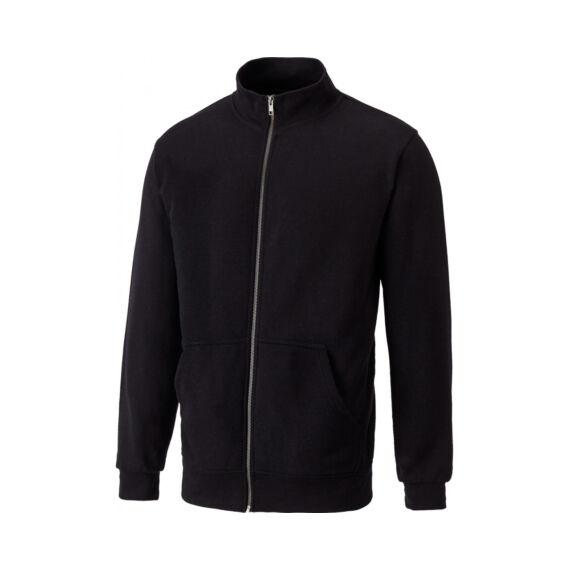 SH11301-Black-Edgewood Zip pulóver-S