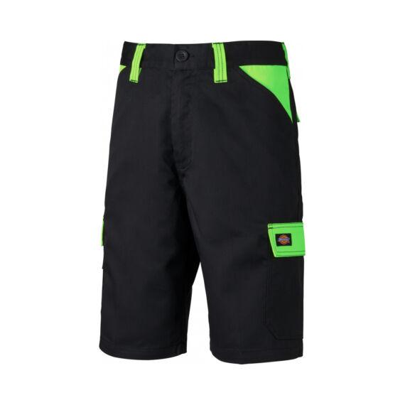 ED24/7SH-Munkaruha short-Black/Lime-33
