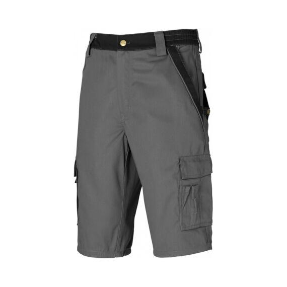 Munkaruha short IN30050-44-Grey/Black Industry